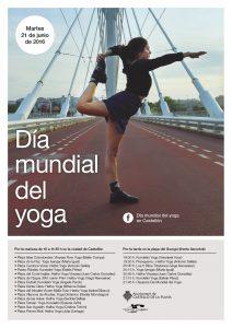 Celebración Dia Internacional del Yoga Castellón